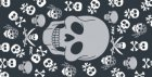 P.A.C. BANDANA HAPPY SKULL