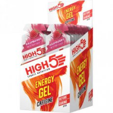 HIGH538 HIGH5 ENERGY GEL PLUS RASPBERRY 38G( box 20 gels)