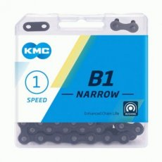 KMC B1 Narrow Black voor Tour, City & Fixed Gear