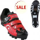 PEARL IZUMI RACE MTB TRUE RED / BLACK maat 43