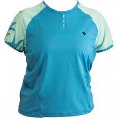 Specialized Womens Short Sleeve Trail Cycling Jersey BLUE