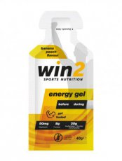 WIN2 ENERGY GEL BANAAN/PERZIK