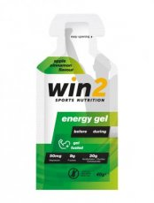 WIN2 ENERGY GEL APPEL/KANEEL